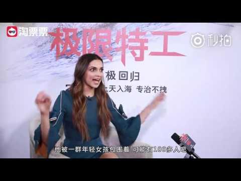 Nina Dobrev, Deepika Padukone and D.J. Caruso talk about Kris Wu and his popularity