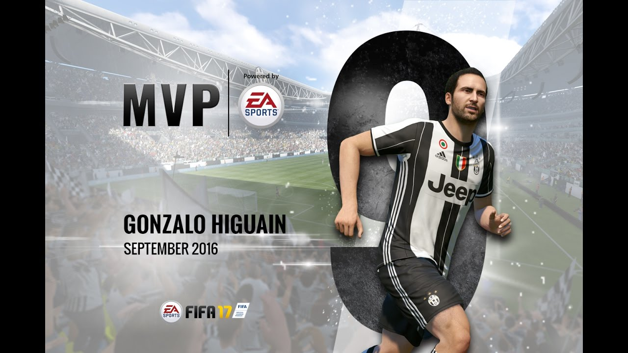 Gonzalo Higuain September Mvp Powered By Ea
