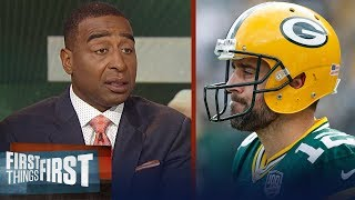 Cris Carter on how Rodgers' knee injury will impact Packers' season   NFL   FIRST THINGS FIRST
