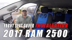 RAM 2500 front seat covers installation (rv life - tow vehicle care)