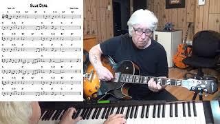 Blue Drag - Jazz guitar & piano cover ( Josef Myrow )