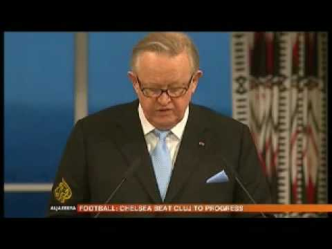 A Nobel peace prize winner's appeal - 10 December 2008