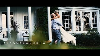 Alyssa + Andrew // Oakholm Farm // VSP Videography