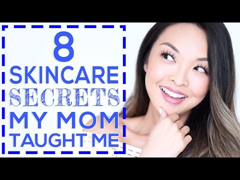 8 Skincare Secrets My Mom Taught Me!