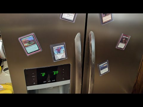 How to Make TCG Magnets for your Fridge