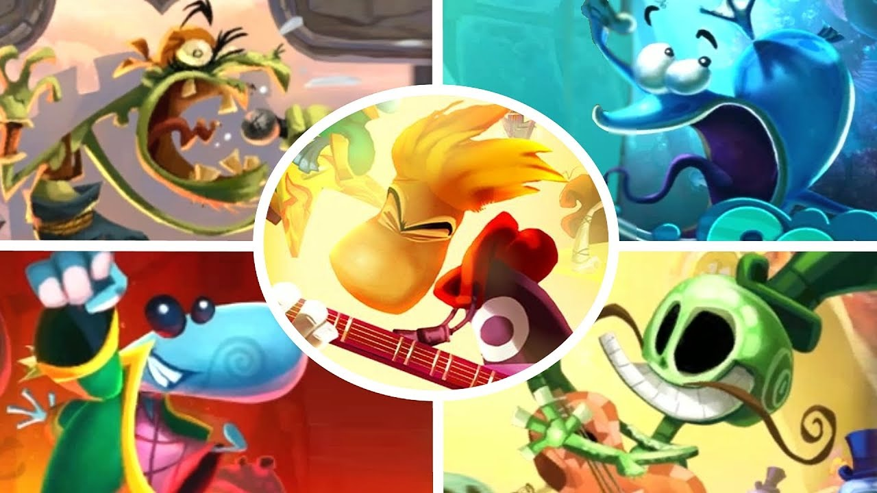 Download Rayman Legends - All Music Levels (8-Bit Included)