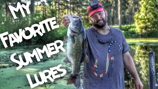 My Favorite Summer Bass Fishing Baits and Lures