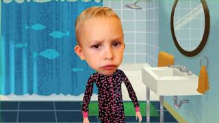 VLAD and NIKITA mime play Johny Johny Yes Papa Rhyme children song colors |تعلم اغنية جوني جوني