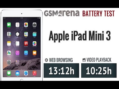 ipad mini gaming battery life