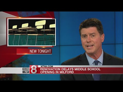Milford delays West Shore Middle School's first day of school by 3 days