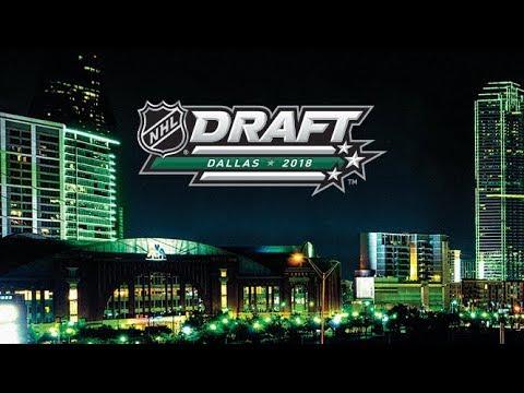 NHL Draft 2018  Day 1  Round 1  June 22,  2018    Part 1