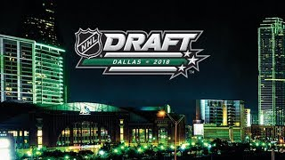 NHL Draft 2018  Day 1  Round 1  June 22,  2018    Part 1