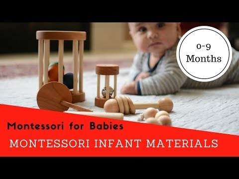 Essential Montessori Infant Materials