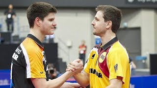 Best of Timo Boll vs Dimitrij Ovtcharov