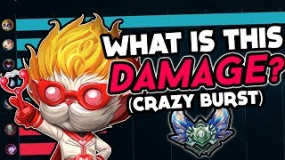 THIS DAMAGE IS SILLY! | HEIMERDINGER VS TRYNDAMERE TOPLANE!  - League of Legends