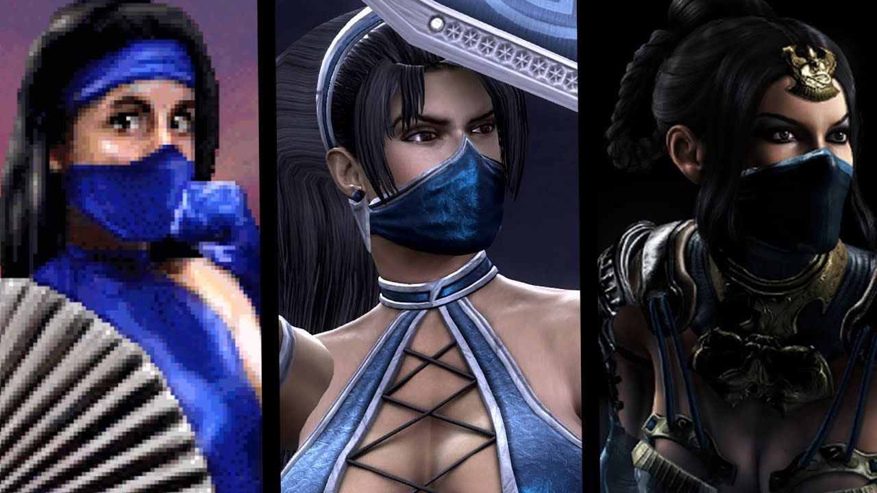 Kitana Evolution 1993 2016 Update Youtube