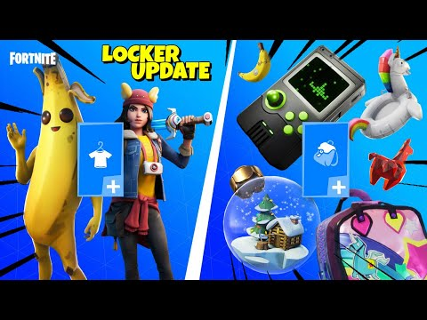 NEW LOCKER FEATURE - USE Battle Royale Skins In SAVE THE WORLD - Fortnite Chapter 2