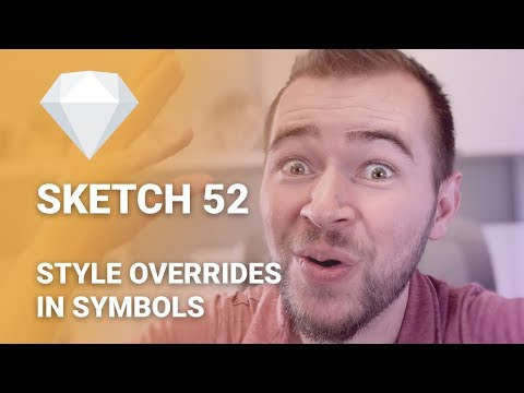 Style Overrides in Symbols using Sketch 52