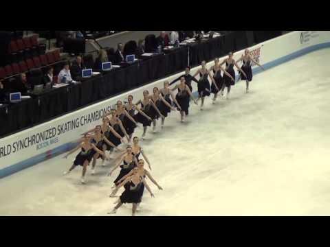 2013世界大会シンクロナイズドスケート ボストン No1