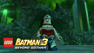 LEGO Batman 3: Beyond Gotham - Wonder Woman Oa free roam