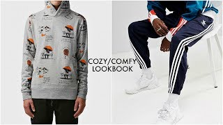 COZY/COMFORTABLE LOOKBOOK | Four Outfit Ideas | Men