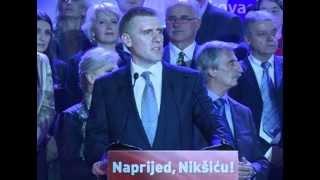 Igor Lukšić na konvenciji Koalicije Evropska Crna Gora u Nikšiću
