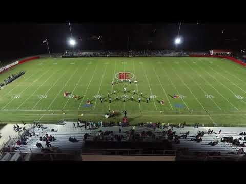"""Elkmont High School Red Devil Marching Band 11-2-18 """"The Greatest Show!"""""""