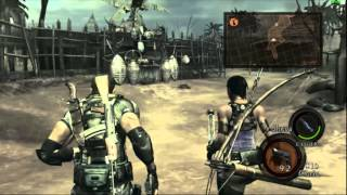 Resident Evil 5 Farming gold and ammo (15000 gold)