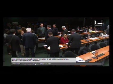 RELAÇÕES EXTERIORES E DE DEFESA NACIONAL - Reunião Deliberativa - 18/04/2018 - 10:23