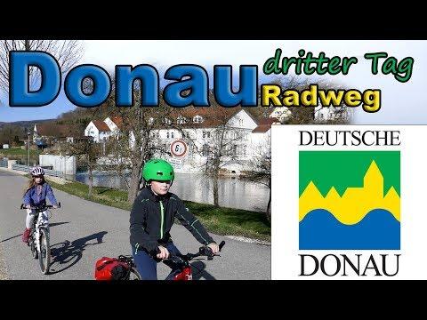 Donauradweg dritter Tag