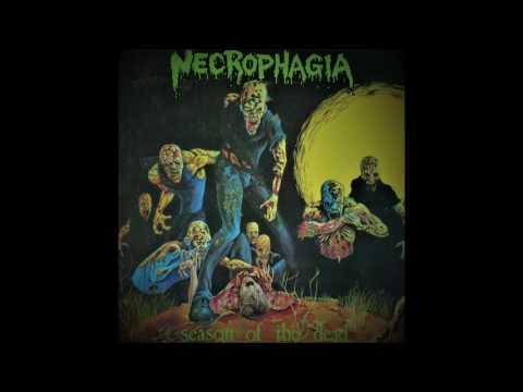 Necrophagia Season Of The Dead 1987 FULL ALBUM VINYL RIP