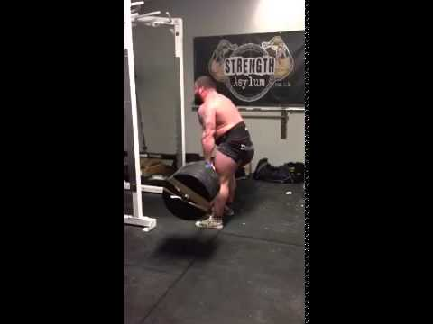 926 lb / 420 kg Raw Deadlift - Eddie Hall