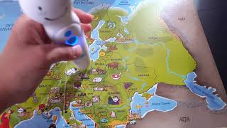 Czytaj z Albikiem - Atlas Świata