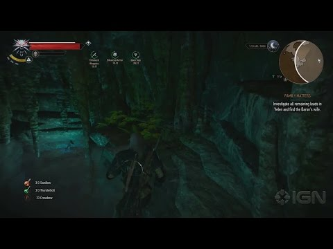 The Witcher 3: Wild Hunt Walkthrough - Side Quest: Griffin School Witcher Gear