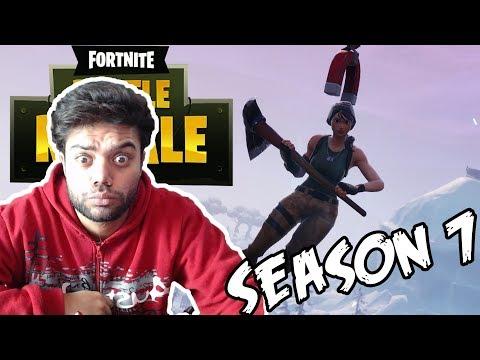 Fortnite Season 7 Rage 😡😡  (Urdu/Hindi) !!!