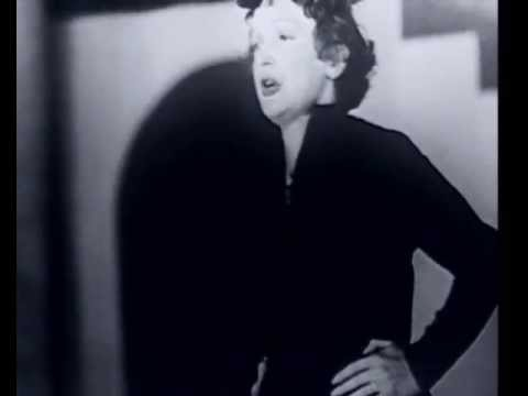 "Édith Piaf & Marlene Dietrich. ""L' Accordeoniste"""