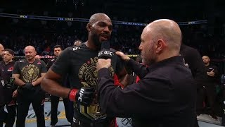 UFC 247: Jon Jones and Dominick Reyes Octagon Interview