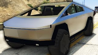 I Put The Telsa Cybertruck To The Test - GTA 5 Mods