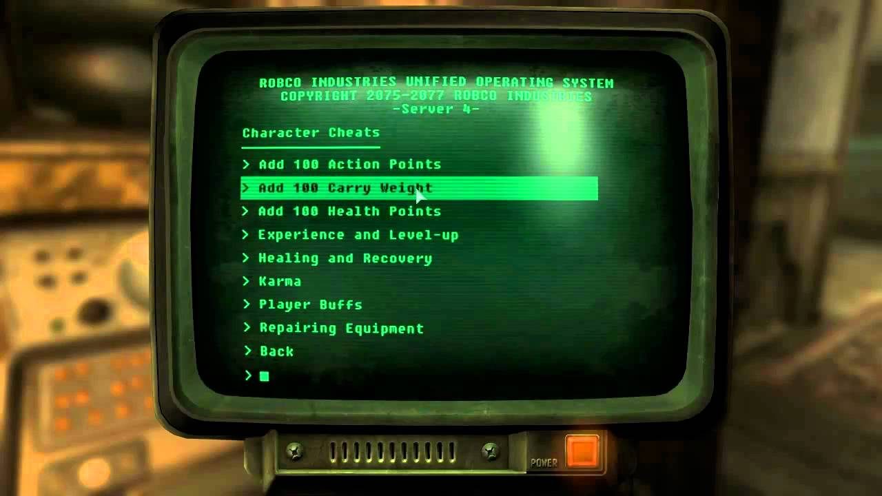 Fallout new vegas mods cheat terminal youtube