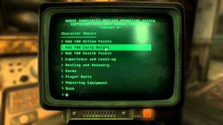 Fallout New Vegas Mods:Cheat Terminal