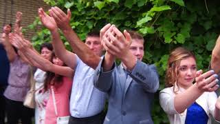 флешмоб Манекен челлендж на Свадьбе