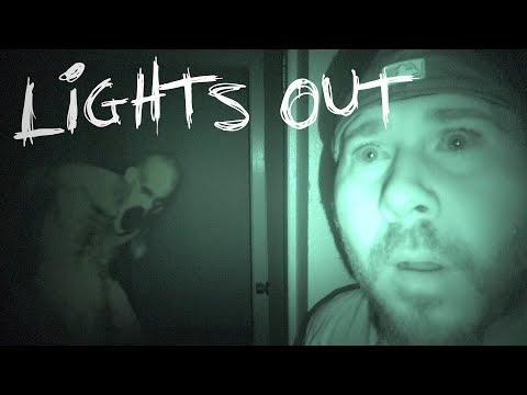 LIGHTS OUT CHALLENGE IN HAUNTED SERIAL KILLER'S HOUSE   OmarGoshTV