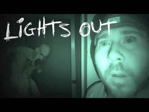 LIGHTS OUT CHALLENGE IN HAUNTED SERIAL KILLER'S HOUSE