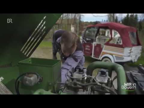 Wir in Bayern bei der Oldtimer-Traktor-Vermietung Strobel
