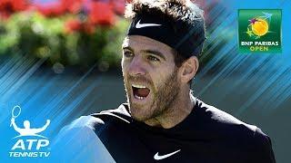 Best shots from the BNP Paribas Open semi-finals | Indian Wells 2018