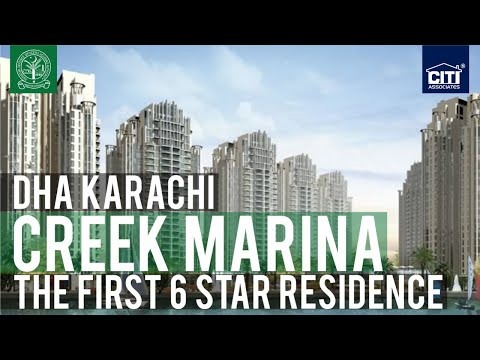 Creek Marina - The First 6-Star Residence in Pakistan (DHA K