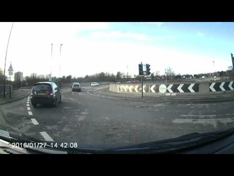 In Car DVR Review Of GT300 Dash Cam.