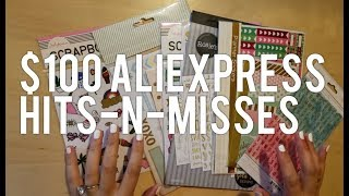 HUGE AliExpress Planner Supplies / Stationery Haul! 13 Stores! In Depth Reviews.