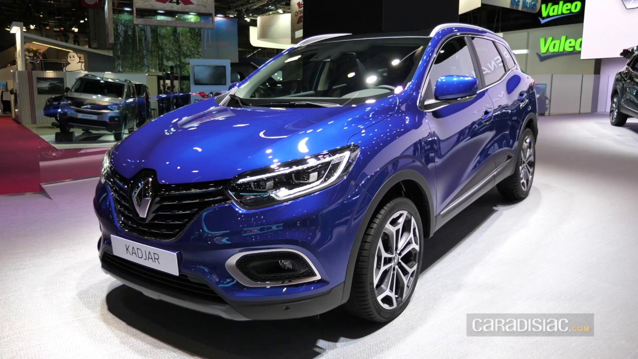 pr sentation renault kadjar restyl mondial de paris youtube. Black Bedroom Furniture Sets. Home Design Ideas