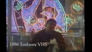 Blade Runner VHS vs. Bluray (Deckard's first scene) streaming